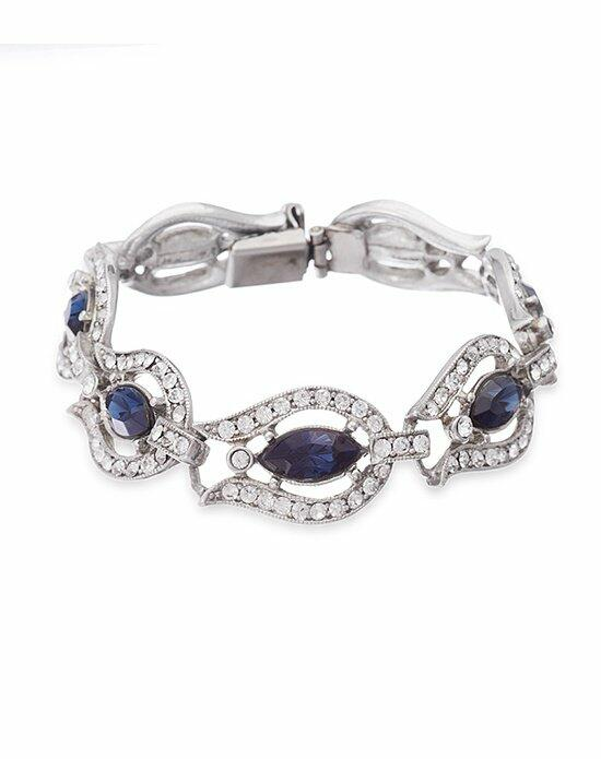 Thomas Laine Ben-Amun Belle Epoque Blue Crystal Bracelet Wedding Bracelets photo