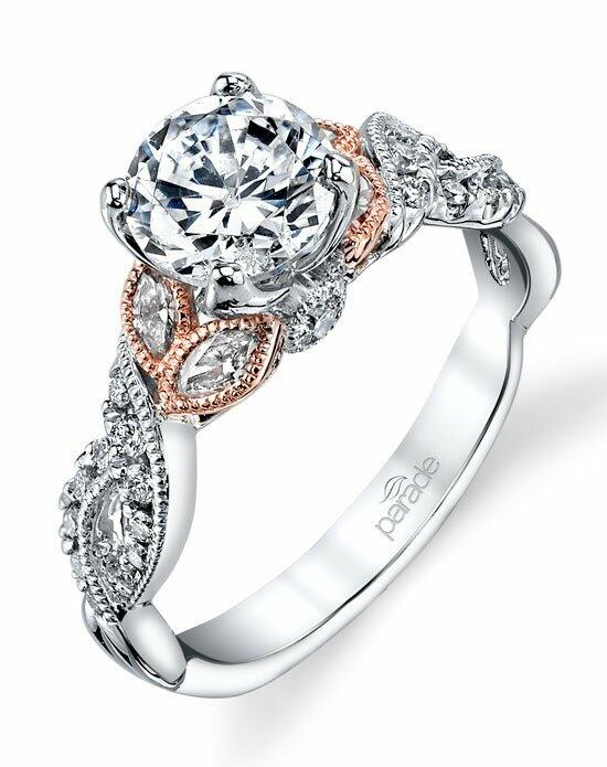 Parade Design Style R3567 from the Lyria Bridal Collection Engagement Ring photo