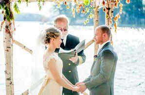 Ceremony on Sebago Lake