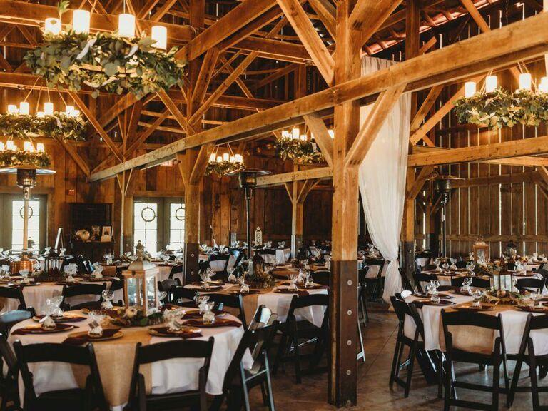 Farm wedding venue in Holt, Missouri.