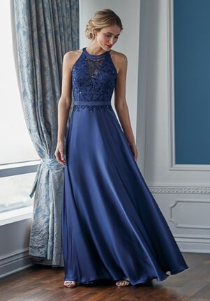 Jade Couture Mother of the Bride by Jasmine K218055 Blue Mother Of The Bride Dress
