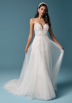 Maggie Sottero ROANNE ROSE A-Line Wedding Dress