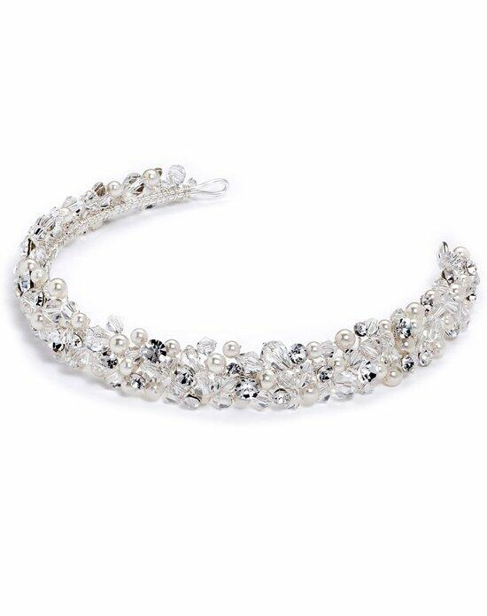 USABride Adore Crystal & Pearl Headband TI-3204 Wedding Headbands photo