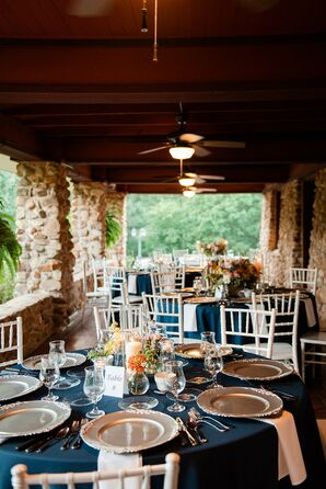 Terrance Reception Seating at Anthony Chapel in Hot Springs, Arkansas