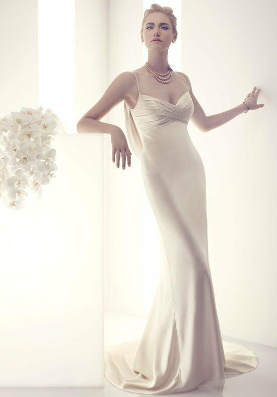 Cb couture b076 wedding dress the knot for Cb couture wedding dresses