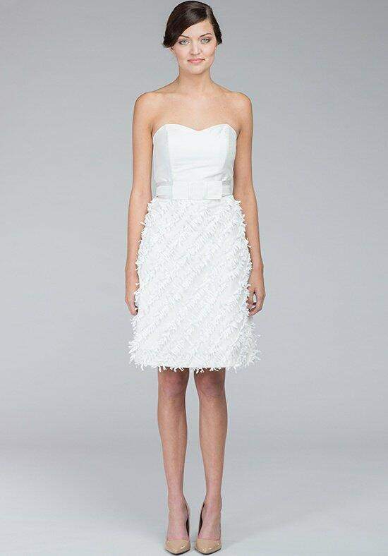 Kate McDonald Little White Dress Tulle with Fringe Wedding Dress photo