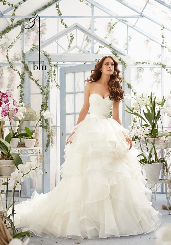 Blu by Madeline Gardner 5401 Wedding Dress photo