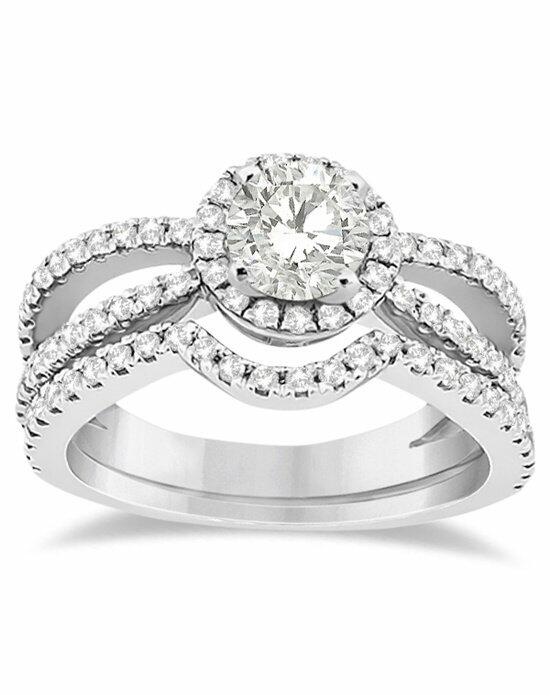 Allurez - Customized Rings U1539 Engagement Ring photo