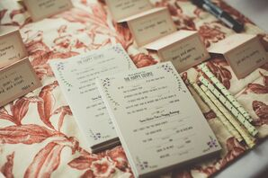 Mad Libs Advice For The Couple Guest Book