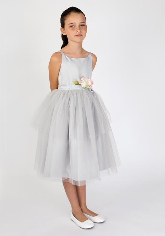 Us Angels Beautiful Color The BallerinaDress-101_Silver Flower Girl Dress photo