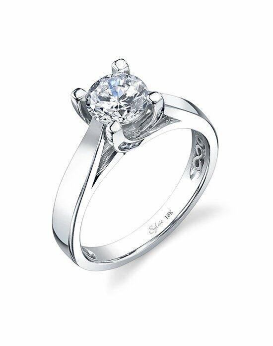 Sylvie Collection SY707 Engagement Ring photo