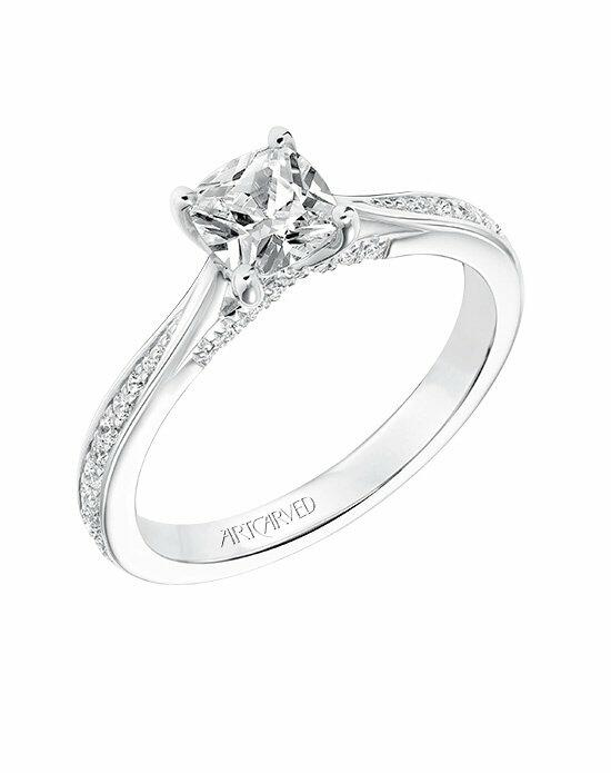 ArtCarved 31-V670EUW-E Engagement Ring photo