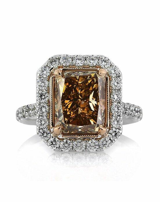 Mark Broumand 5.51ct Fancy Brownish Yellow Radiant Cut Diamond Engagement Ring Engagement Ring photo