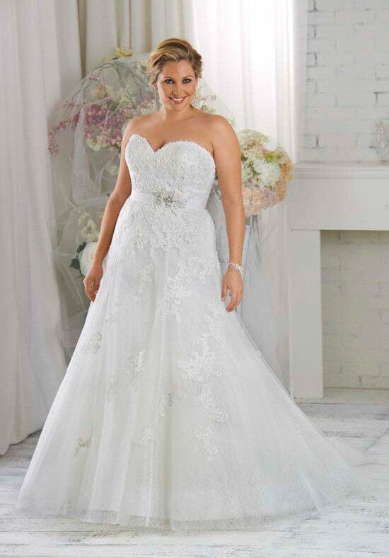 Unforgettable by Bonny Bridal 1413 Wedding Dress photo