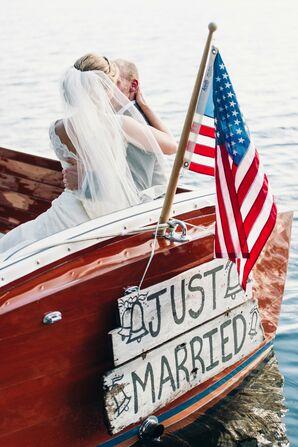 Post-Ceremony Boat Ride