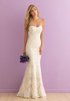 Allure Romance 2903 Sheath Wedding Dress
