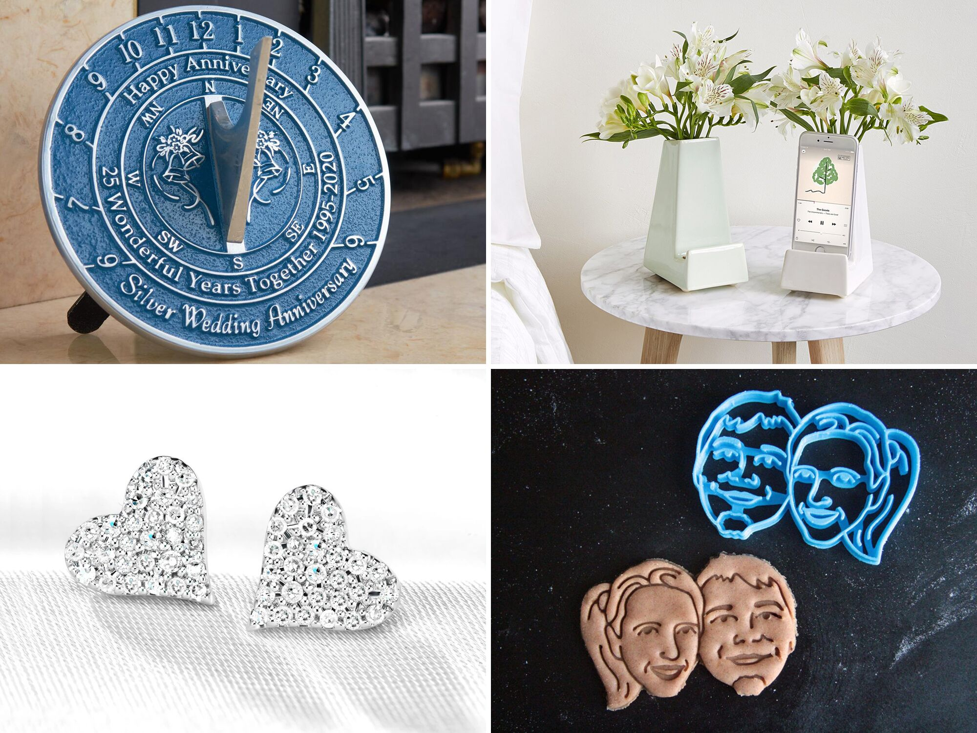 The Top 25th Anniversary Gifts For The Silver Jubilee