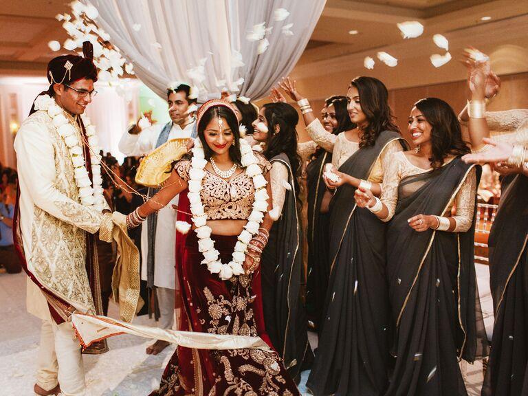 Traditional Hindu wedding ceremony.