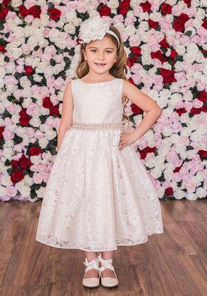 Kid's Dream 490 Ivory,Champagne Flower Girl Dress