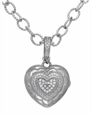 With You Lockets Rose Bracelet (Sterling) Wedding Bracelet photo