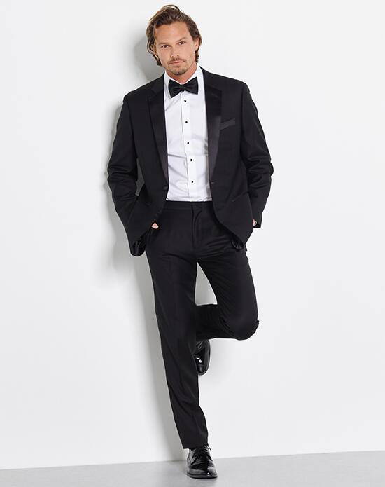 The Black Tux Notched Lapel Tuxedo Wedding Tuxedos + Suit photo