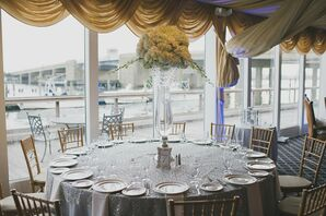 Bridgeview Yacht Club Waterfront Wedding Reception