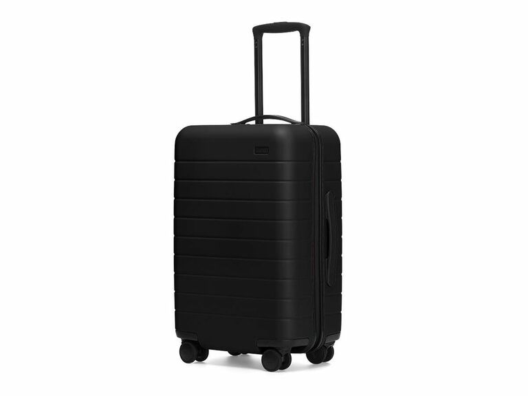 black away carry on suitcase