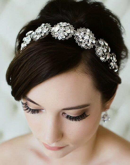 Sara Gabriel Hazel Hair Ribbon Wedding Headbands photo
