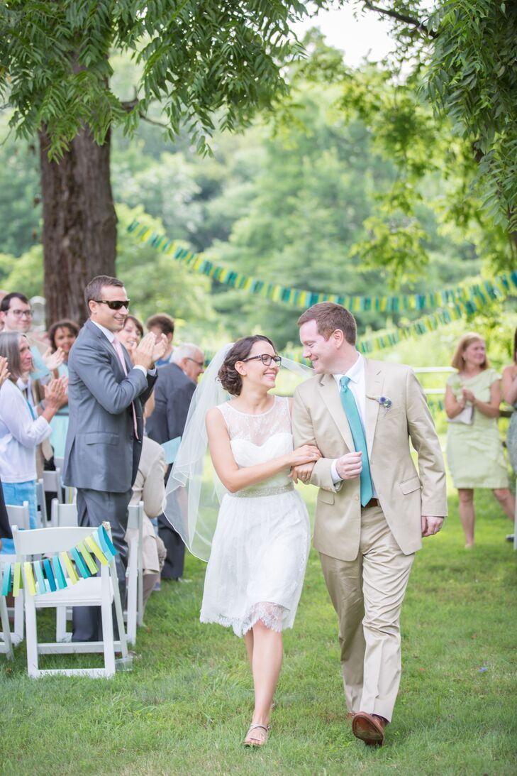Bluefield Farm Wedding Ceremony Recessional