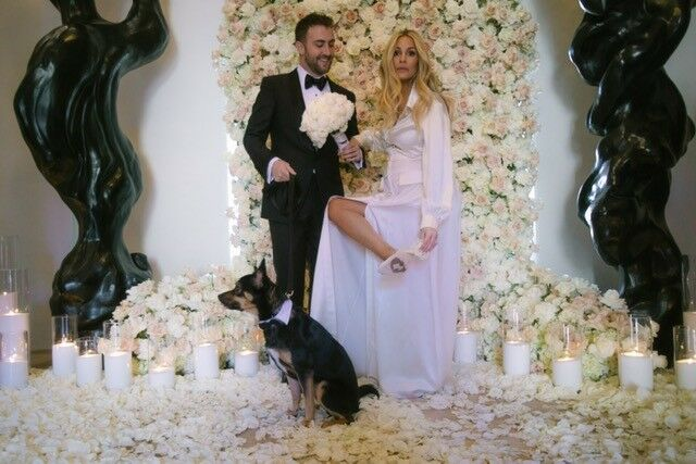 morgan stewart wedding dress