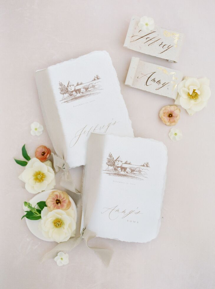 Handmade Paper Goods and Place Cards