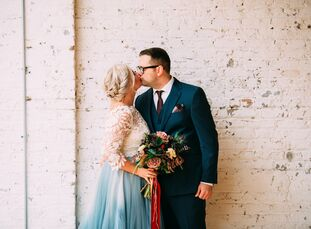 A single skylight and ample outdoor space were just two reasons Tiffany Aufmann (31 and a photographer) and Scott Brownley (33 and in law enforcement)