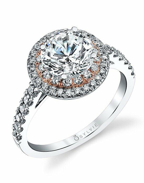 Sylvie Collection S4100 Engagement Ring photo