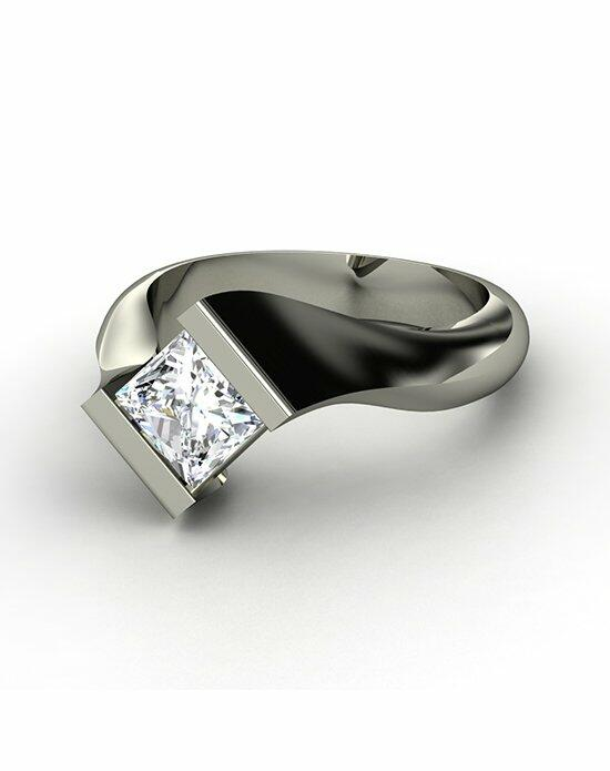 Gemvara - Customized Engagement Rings Modern Embrace Ring Engagement Ring photo
