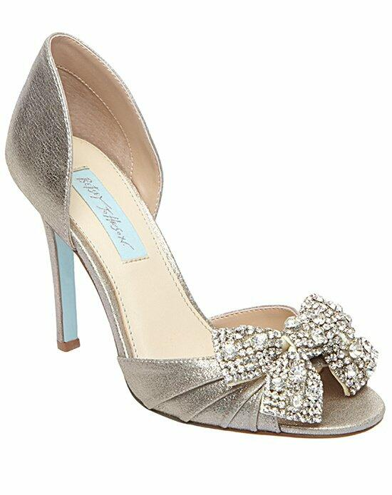 Blue By Betsey Johnson SB-GWEN - CHAMPAGNE SATIN Wedding Shoes - The Knot