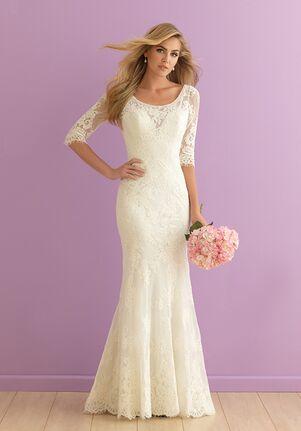 Allure Romance 2910 Sheath Wedding Dress