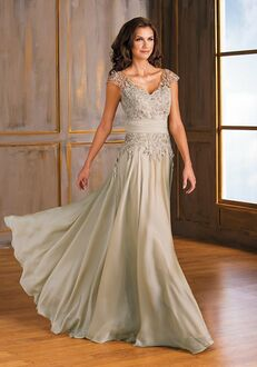 Jade Mother of the Bride by Jasmine J175001 Ivory Mother Of The Bride Dress