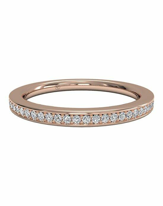 Ritani Women's Micropavé Diamond Eternity Wedding Band in 18kt Rose Gold (0.24 CTW) Wedding Ring photo