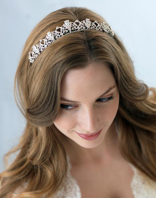 USABride Petite Swirling Tiara TI-3174-SV Wedding Tiaras photo