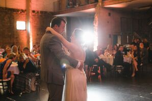First Dance at Aria Wedding Reception