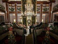 Christmas wedding venue in Providence, Rhode Island.