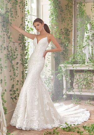Morilee by Madeline Gardner/Blu Peta Sheath Wedding Dress