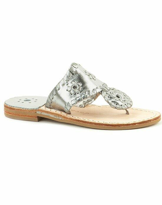 Jack Rogers Hamptons Miss Sandal-silver Wedding Shoes photo