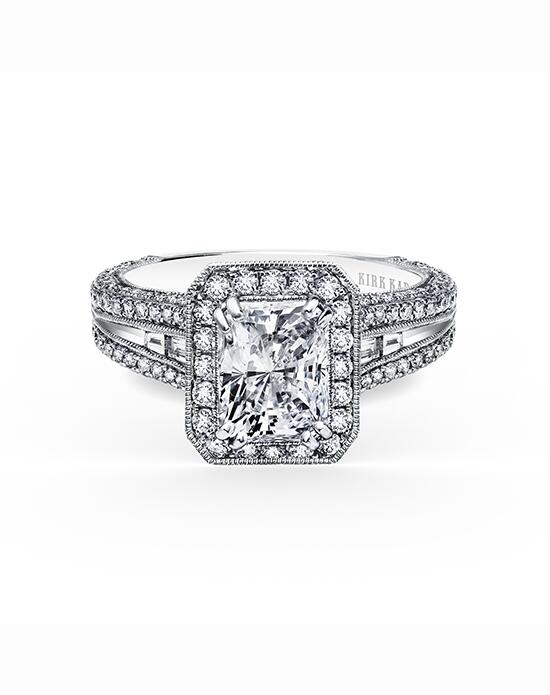 Kirk Kara Carmella Collection SS6983TC-R Engagement Ring photo