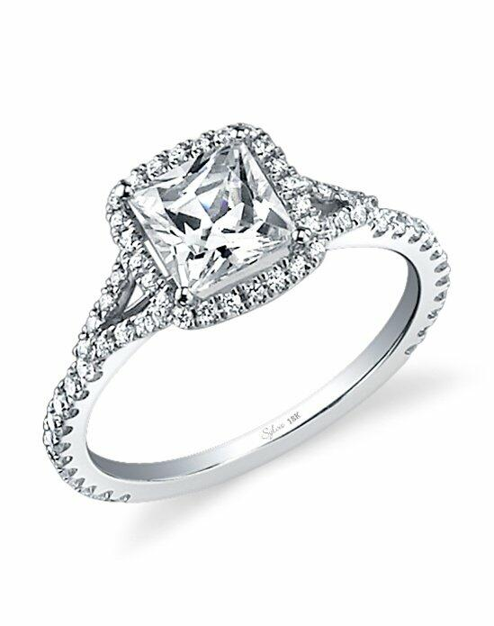 Sylvie Collection SY595 Engagement Ring photo