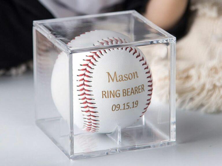 personalized baseball