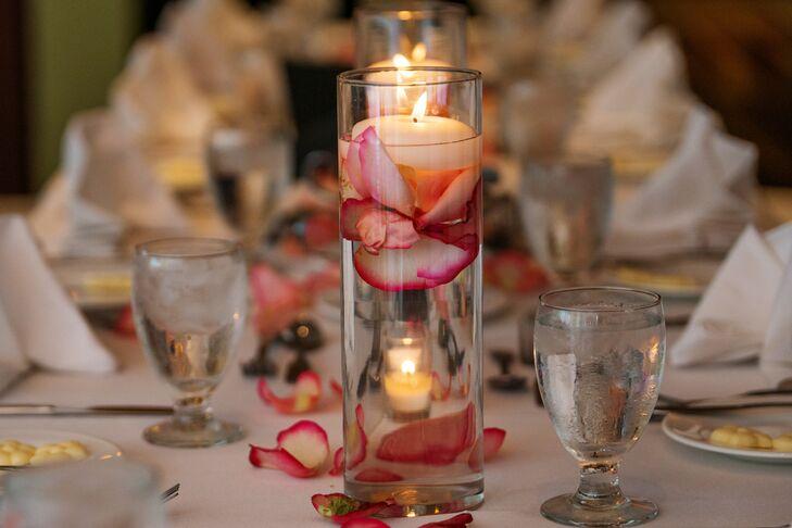 Melbourne, Florida Floating Candle Centerpiece Accent