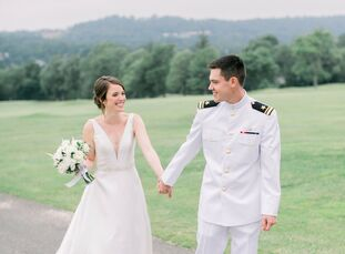 Katherine and Erik met when they were one step away from the altar—as maid of honor and best man for their close friends' wedding. A few years later,