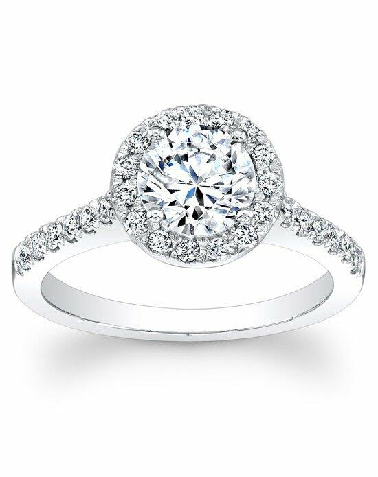 Since1910 Round Pave Halo Diamond Engagement Ring Engagement Ring photo