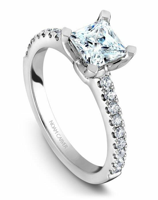 Noam Carver B038-01WS-100A Engagement Ring photo